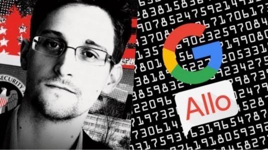 Snowden Uyardı: Google Allo'yu Kullanmayın