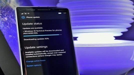 Windows 10 Mobile Yapı 14393.221 Release Preview ve Slow Halka İçin Yayınlandı