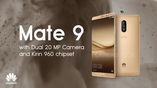 Huawei Mate 9'un Yeni Görselleri Geldi
