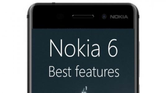 Nokia 6: En İyi 6 Özelliği