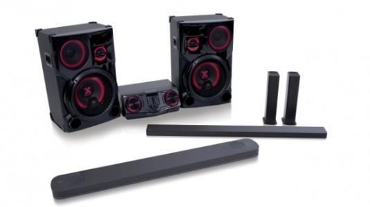 LG, En Yeni LOUDR Hoparlör ve Tv Sound Barlarını CES 2017'de Tanıttı