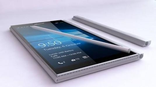 Microsoft, 2'si Bir Arada Katlanabilen Bir Mobil Cihaz  Patenti Aldı