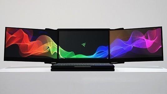 CES 2017: Razer'dan 3 ekran içeren dizüstü bilgisayar duyurusu geldi