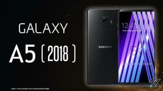 Samsung Galaxy A5 (2018)'in İlk Görseli Sızdırıldı
