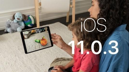 iOS 11.0.3 biraz önce indirilmeye sunuldu