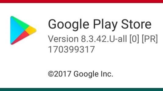 Google Play Store 8.3.42 Sürümü Yayınlandı