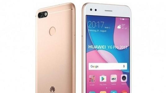 Giriş Seviyesi Huawei Y6 Pro 2017 Modeli Tanıtıldı