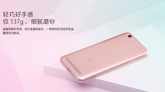 Xiaomi Redmi 5A Resmi Olarak Duyuruldu