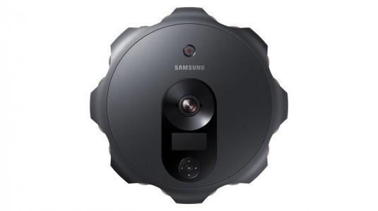 Samsung 360 derece çekim yapan, 17 sensörlü kamerasını tanıttı