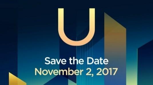 HTC U11 Plus'ın 2 Kasım'daki Tanıtım Etkinliği Resmiyet Kazandı