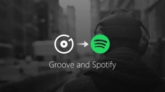 Microsoft Groove Music Kapatıldı ve Kullanıcılar Spotify'a Yönlendirildi