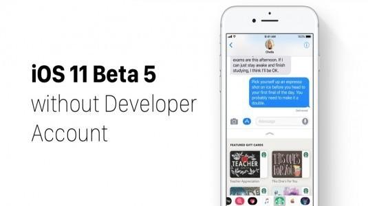 iOS 11.1 Beta 5 kullanıma sunuldu