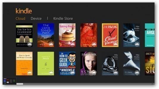 Kindle uygulaması, iOS ve Android için yenilendi