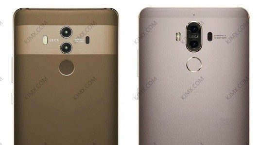 Huawei Mate 10, Mate 9'la Birlikte Görüntülendi