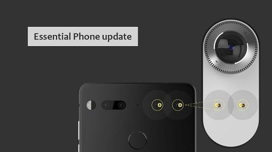 Essential Phone Kamera Güncellemesi Aldı