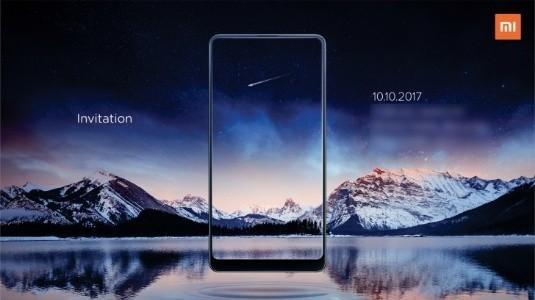 Xiaomi Mi MIX 2, 10 Ekim'de Hindistan'a Geliyor
