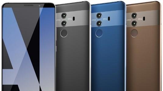 Huawei Mate 10 Pro'nun İlk Canlı Görüntüleri Geldi