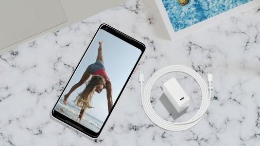 Yeni Pixel 2 Telefonlar, 27W'a Kadar USB-PD ile Hızlı Şarj Destekliyor