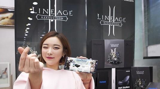 Güney Kore'de Galaxy Note 8 Lineage 2 Revolution Edition Satışa Sunuldu