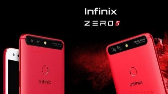 Infinix Zero 5 Çift Arka Kamera İle Beraber Duyuruldu