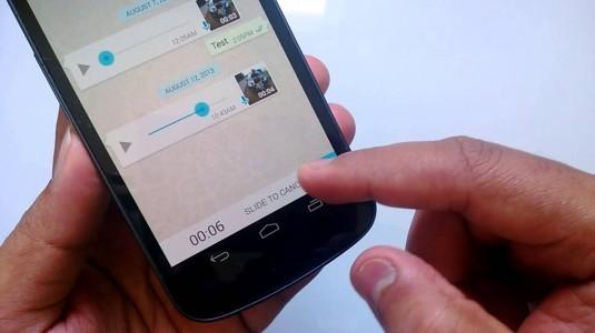 WhatsApp sesli mesaj kaydetme özelliğini kolaylaştıracak