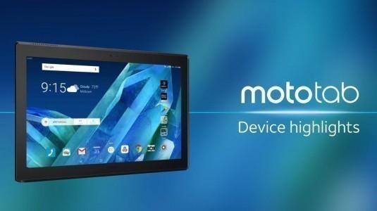 Lenovo Moto Tab, resmi olarak tanıtıldı