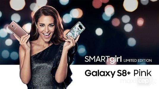 Samsung Galaxy S8 Plus SMARTgirl Limited Edition Duyuruldu