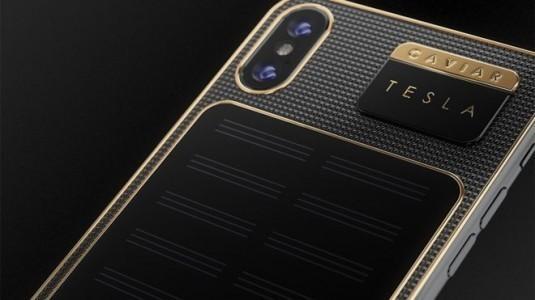 iPhone X Tesla: kendi kendini şarj ediyor