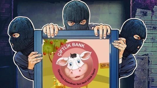 Sanal çiftlik oyunu Çiftlik Bank, bakanlık tarafından inceleniyor