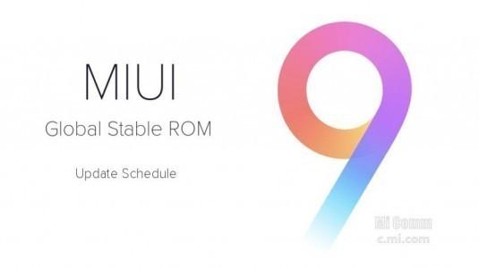 Xiaomi, Global MIUI 9 Dağıtımına Başladı