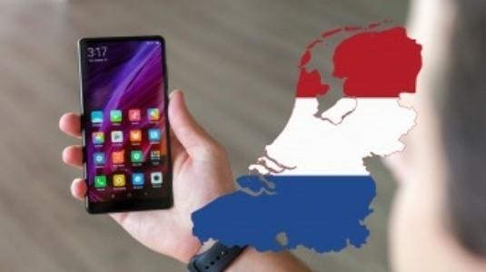 Xiaomi Mi Mix 2 Hollanda'da Satışa Sunuluyor