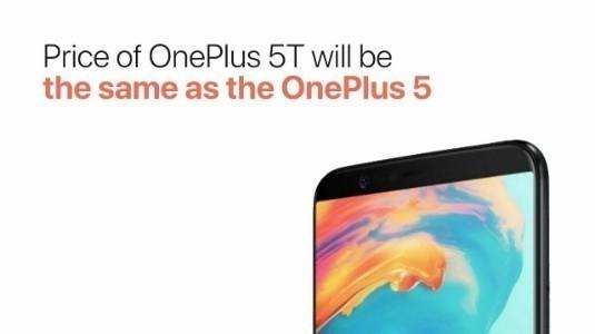 Oneplus 5T'nin Fiyatı Detaylanıyor