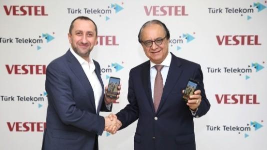 Türk Telekom ve Vestel İşbirliği Sonucu Venüs V5 Satışa Sunuldu