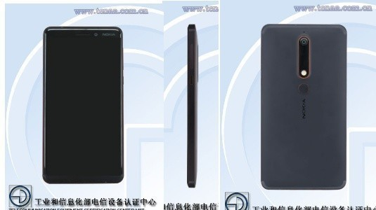 Nokia 6 (2018) 'in Görüntüleri TENAA Listesine Eklendi