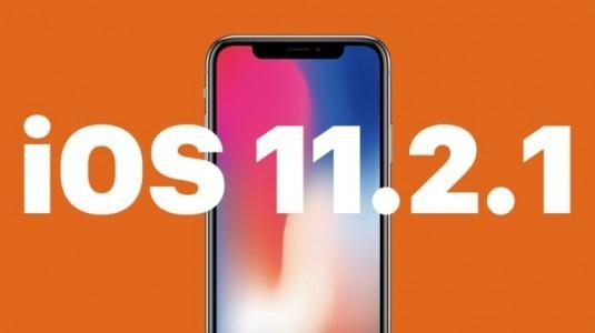 iOS 11.2.1 güncellemesi, indirilmeye sunuldu