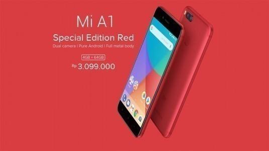 Xiaomi Mi A1 Special Edition Red duyuruldu
