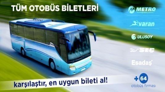 Türkiye'nin en güvenilir Online Bilet sitelerini sizler için listeledik