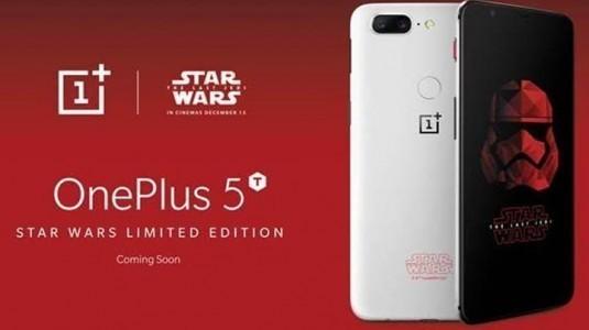 OnePlus 5T Star Wars Edition resmiyete kavuştu