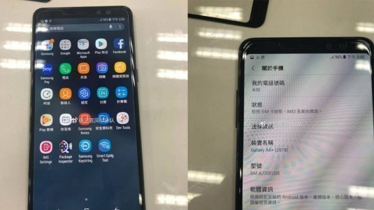 Galaxy A8+ (2018) ilk defa canlı canlı görüntülendi