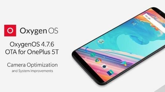 OnePlus 5T İçin OxygenOS 4.7.6 Güncellemesi Dağıtılmaya Başlandı
