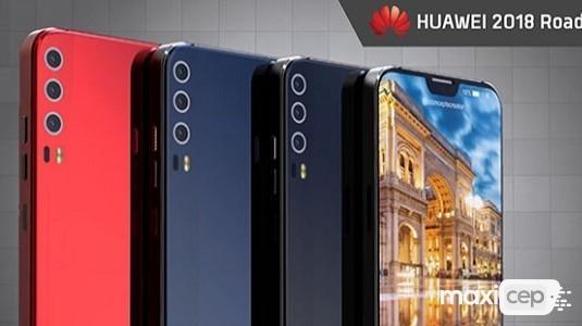 Huawei P20, P20 Plus ve P20 Pro Tasarımları Ortaya Çıktı