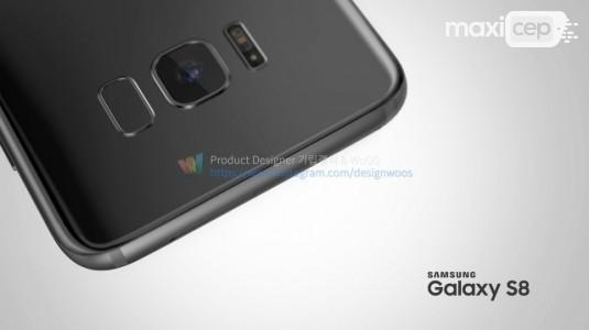Galaxy S8 ve S8+'ın Sızıntılardan Oluşan Render Görselleri Yayınlandı