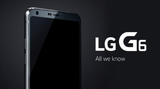 LG G6'nın Fiyatı, Sızdırılan Özellikler Nedeni ile G5'ten 50$ Pahalı Olacak