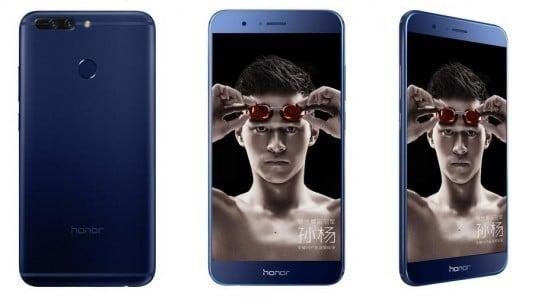 Huawei, Honor V9 Akıllı Telefonu Kirin 960 Yonga Seti ve 6GB RAM'le Duyurdu