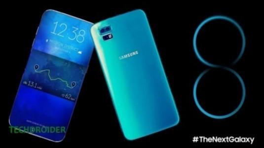 Galaxy S8'in Şimdiye Kadarki En Net Görüntüsü Sızdırıldı