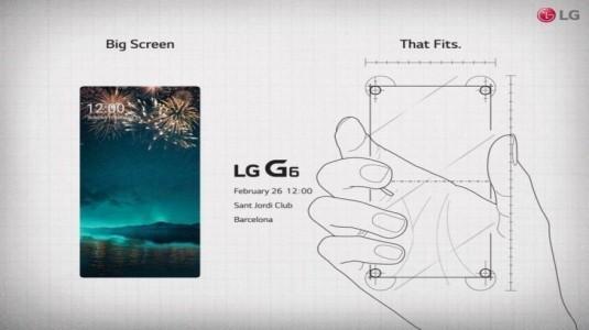 LG G6 Tanıtım Etkinliği Davetiyesi Akıllı Telefon Hakkında Yeni İpuçları Veriyor