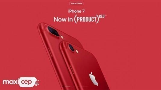 Kırmızı iPhone 7 ile iPhone 7 Plus tanıtıldı