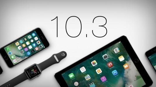 iOS 10.3 yayınlandı, sende indir vakit kaybetme!