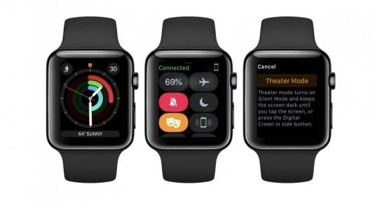 Apple Watch'lar için, watchOS 3.2 güncellemesi yayınlandı