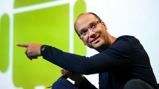 Andy Rubin'in çerçevesiz ekranlı akıllı telefonu göründü